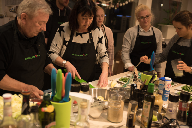 Kochen für Pärchen, Teenager, Männer und Kinder